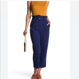 NWT Good Luck Gem Blue High Rise Trousers #174